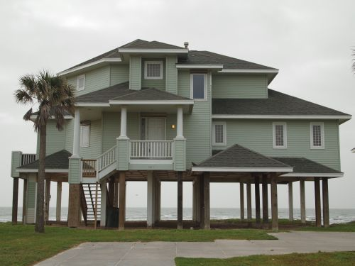 Galveston beach house for Beach house plans galveston