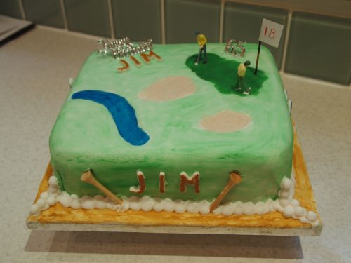Mollie Scores An Ace With Her Golfing Cake Golf by TourMiss