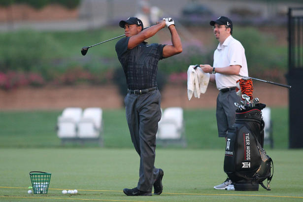 so who is tiger woods new caddy