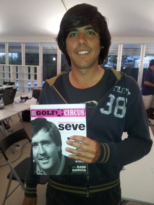 Javier Ballesteros and the son of the late Seve Ballesteros had elected to turn professional. (Photo - www.golfbymiss.com)