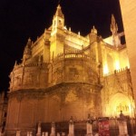 Another view of the Seville Cathedral