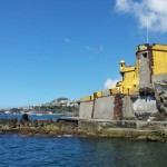 Fort Saintago looks out of Funchal harbour