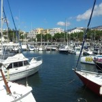 Funchal foreshore and marina