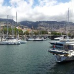 Funchal marina in the morning sunshine