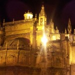 The Seville Cathedral - burial site of renowned explorer Christopher Columbus.