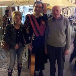 Tour Miss and Jock MacVicar with Spanish musician