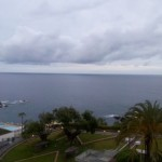View from hotel room of Madeira Regency Club hotel