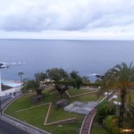 View on arrival from Madeira Regency club hotel
