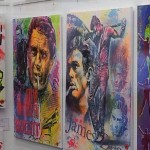 Dusseldorf art gallery - Steve McQueen and James Dean