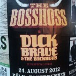 Not to be missed - 'The Boss Hoss' & 'Dick Brave & The Backbeats'.