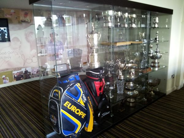 Holywood Golf  Club - Trophy Cabinet