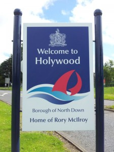 Welcome to Holywood - Home of Rory McIlroy