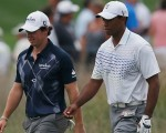Rory McIlroy and Tiger Woods level pegging at Crooked Stick.  (Photo - www.pgatour.com)