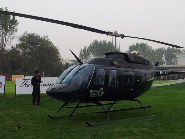 Tiger woods helicopter - photo#1