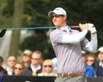 Nicolas Colsaerts wearing sun glasses (red)