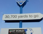 Race to Dubai 30,700 yards to go (red)