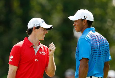 Rory McIlroy admits Tiger Woods personal has been quite intimidating. (Photo - www.golffile.ie)