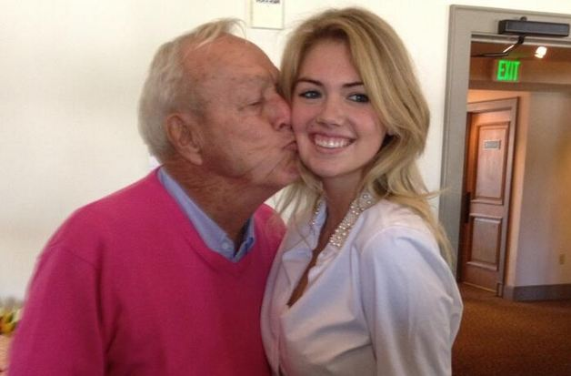 iron from Arnold Palmer but Sports Illustrated cover girl, Kate Upton ...