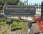 Wentworth Golf Club - Entance sign