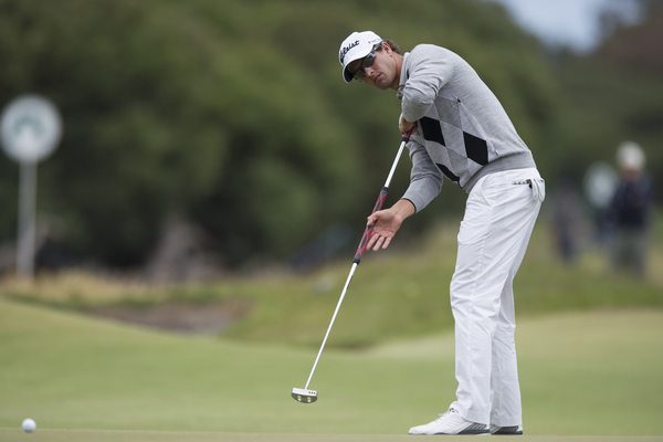 New Masters champion, Adam Scott will not get a grand-father clause should golf's ruling bodies ban anchoring of the belly or long-handled putter to any part of the body.  (Photo - www.golffile.ie)