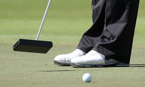 The Black Swan putter would not be lost on a croquet court.