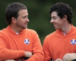 Graeme McDowell and Rory McIlroy still good friends but no longer management stablemates.  (Photo - www.golffile.ie)