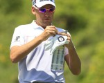 Ian Poulter on route to being bundled out of Bulgaria - losing both matches in the Volvo World Match-Play Championship.  (Photo - Eoin Clarke/www.golffile.ie)