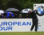 Shane Lowry on route to a share of 8th place on day two of the BMW PGA Championship.  (Fran Caffrey/www.golffile.ie)