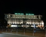 Sofia&#039;s Stunning Savoy Balkan Hotel At Night.