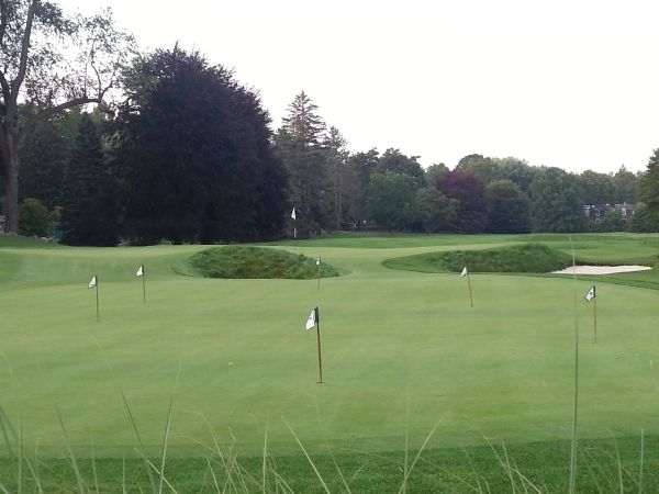 A practice putting green at the back of the final green.  (Photo - www.golfbytourmiss.com)
