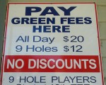Euroa Golf Club - all day golf for just $20