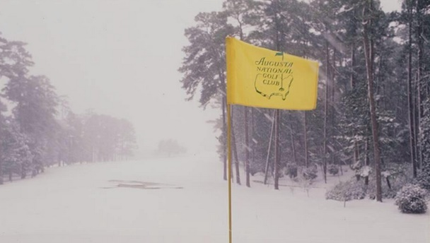 Augusta National's 11th hole rarely as you see it.