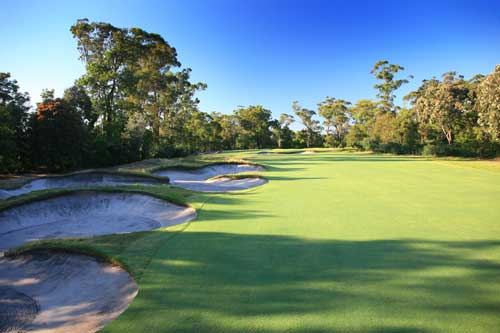 Metropolitan Golf Club - one of marvels of Melbourne's Sandbelt courses.