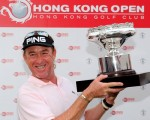 Miguel Angel Jimenez wins 4th Hong Kong Open to extend his record  as the oldest winner on the European Tour - 28 days short of his 50th birthday.  (Photo - www.europeantour.com)