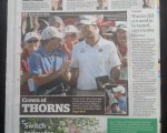 Sydney Morning Herald - Crown of Thorns.