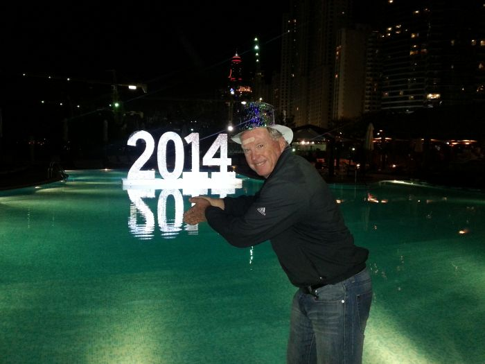 Bernie ready to take the plunge into 2014.