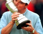 Paul Lawrie winner of the 1999 Open Championship pays tribute to the late Kel Nagle winner of the 1960 Open Championship.