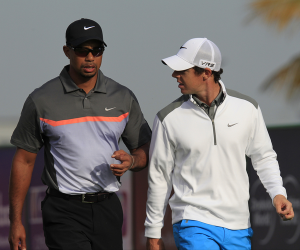 Rory McIlroy says he's long been a Tiger Woods geek.