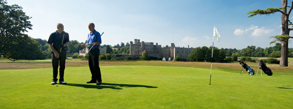 Leeds Castle course near Maidstone in Kent.  (Photo - Leeds Foundation).