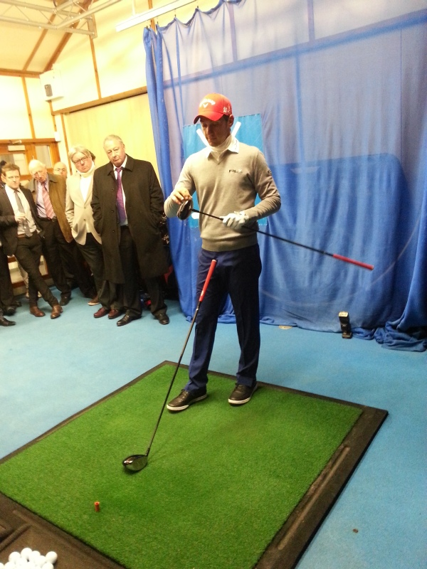 Matteo Manassero Visits Old Course St Andrews Golf By
