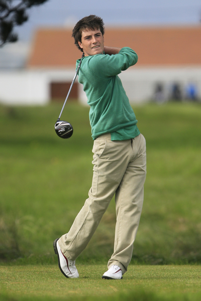 Dermot McElroy and his surname not to be mistaken for Rory McIlroy.  (Photo - Thos Caffrey/www.golffile.ie)