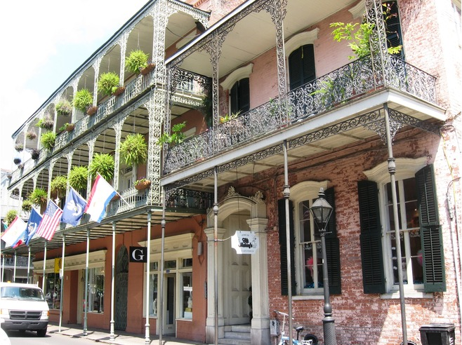 Corner balcony french quarter golf by tourmiss for French quarter balcony
