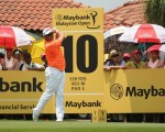 Lee Westwood has seen his lead cut to one  shot with a round to play in the Maybank Malaysian Open.  (Photo - www.europeantour.com)