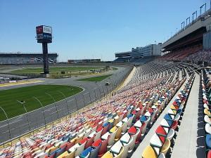 Charlotte motor speedway grandstands 1 golf by tourmiss for Charlotte motor speedway tours