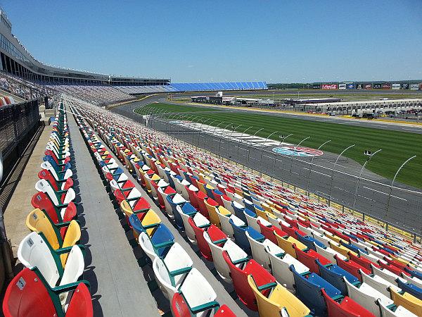 Charlotte Motor Speedway Grandstands 2 Golf By Tourmiss