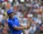 Dustin Johnson now out of the PGA Championship, FedEx Cup Play Offs and Ryder Cup.  (Photo - Fran Caffrey/www.golffile.ie)