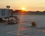 Sunrise over Philly Airport