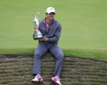 Rory McIlroy with golf's famed Claret Jug.  (Photo -Eoin Clarke/www.golffile.ie)