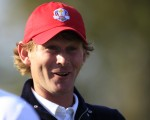 Brandt Snedeker in  happier times and during the 2012 Ryder Cup.  (Photo - Eoin Clarke/www.golffile.ie)