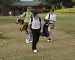Richard's great photograph of Rory McIlroy walking down the right side of the 18th fairway at the Hong Kong Golf Club.
